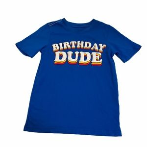 Like New Carter's Birthday Dude Tee Size 6